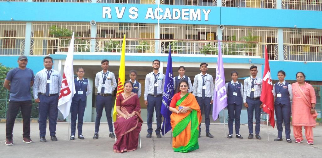 INVESTITURE CEREMONY AT R.V.S. ACADEMY