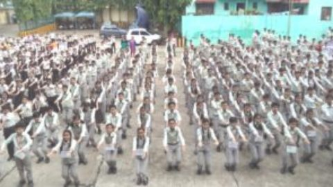 International Yoga Day celebrated in R.V.S Academy