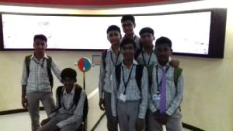 Trip to Science City, Purulia by R.V.S Academy Students