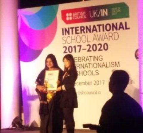 R.V.S Academy bags the Prestigious International Award 2017
